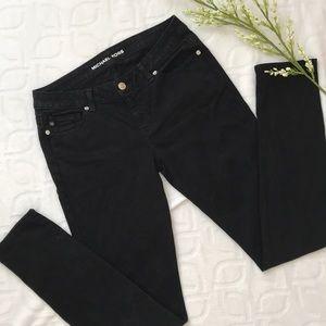 Michael Kors Black Straight Leg Jeans Size 2